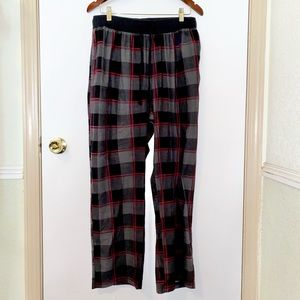 Nwot Nautica: Medium Men's Dark Plaid Sleep Pants